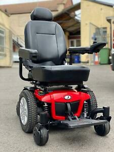 PRIDE JAZZY 600 ES 4MPH MWD ELECTRIC MOBILITY POWERCHAIR WHEELCHAIR SCOOTER 2020