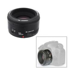 YONGNUO 50mm F/1.8 Aperture Auto Focus AF/MF Lens for Canon EOS Cameras V9X9