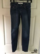 Hollister Skinny Jeans, Ankle Zipper, Size 1R, EUC