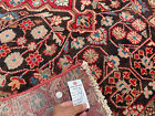 4x6 VINTAGE WOOL RUG HAND-KNOTTED brown oriental HANDMADE antique handwoven 4x7