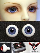 1/3 1/4 1/6 bjd 16mm grey blue high quality glass doll eyes dollfie M-53 ship US