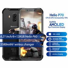 "6,21"" Blackview BV9600 Smartphone Android 9.0 Helio P70 4GB+64GB IP68 Handy Grau"
