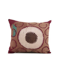 """13.39"""" x 15.75"""" Pillow Cover Suzani Pillow Vintage FAST Shipment With UPS 10084"""