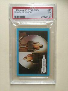 STAR TREK #25 1969 A&BC UK (PSA 7 NM)