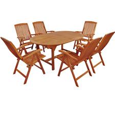Indoba Gartenmöbel Set 7-teilig Sun Flair 170 cm - 220 cm Garten robust stabil