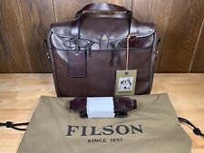 Filson Weatherproof Leather Briefcase - New!