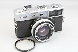 OLYMPUS 35 SP RF CAMERA, CLAD, SEALS SR. 282088 - FILM TESTED - NICE
