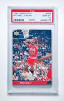 1992 UPPER DECK MICHAEL JORDAN GAME FACES #488 PSA 10 GEM MINT GOAT!!🔥📈