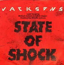 "JACKSONS, THE / MICK JAGGER - State Of Shock (1984  VINYL SINGLE 7"" HOLLAND)"