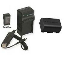 BN-VG114 BN-VG114E BN-VG114U BN-VG114US Battery + Charger for JVC GZ-E200 GZHM30