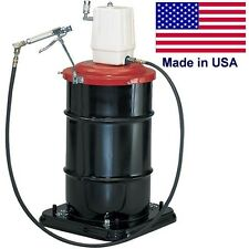 Commercial Air Operated Grease Pump - 6 CFM - 1/4 Inlet & Outlet - 7,500 Max Psi