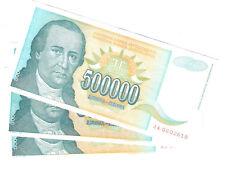 20634) JUGOSLAVIA 500.000 DINARA 1993 SPL