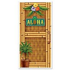 Party Supplies Birthday Decorations Beach Ocean Hawaiian Luau Door Poster Aloha