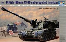 Trumpeter 1/35 British 155 mm as-90 Self-Propelled Howitzer # 00324