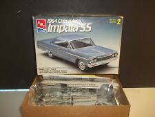 AMT ERTL 1964 CHEVY IMPALA HARDTOP 1:25 SCALE PLASTIC MODEL KIT. COMPLETE.