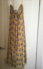 Forever 21 Strapless Maxi Dress Size XS