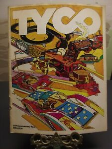 1976, 50th ANNIVERSARY, TYCO DEALER PRODUCT CATALOG, TRAINS, SLOT CARS, & MORE