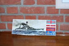 ITALERI HMS HOOD BATTLECRUISER  N°501 SCALE 1/720