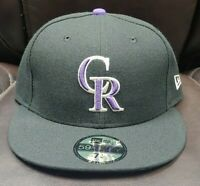 NEW Colorado Rockies Baseball MLB 59Fifty Team New Era 7-1/4 Fitted Hat Cap