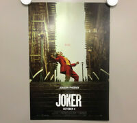 THE JOKER CLOWN STAIRCASE Stand Smiling Original Movie poster DC 2019 Batman