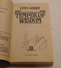 Ultima Saga #2 Temper of Wisdom Signed by Lynn Abbey
