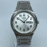 BULOVA STAINLESS STEEL MENS WATCH 38mm C860670