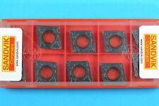 10 Sandvik CCMT 120408-PM - Grade 4335 CNC Lathe Coated Carbide Turning Inserts