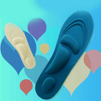 Men Women Orthotic Sport Gel Insoles Insert Shoe Pad Arch Support Cushion Trendy