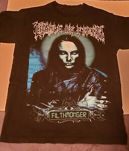 Cradle of Filth shirt. Size Small. Rare. Dani Filth Dimmu Borgir Dark Funeral