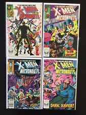 4 Issue Lot - X-Men And The Micronauts Limited Series 1 2 3 4