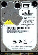WD10JMVW-11AJGS2,  EBPTJBN  USB 3.0   WESTERN DIGITAL SATA 1TB  WXJ1  JAN 2014