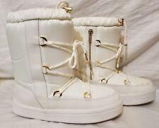Ladies Aldo Snow Boots White Araneo size 38 7.5