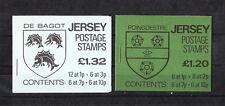 JERSEY  lot de 2 carnets de   timbres  neufs  **  de 1981  , num: 237 et 238