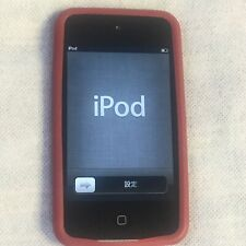 Apple iPod Touch 4th Generation A1367 Black (32GB) w Rubber Casing Pre-Owned