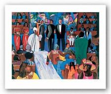 The Objection Serigraph Gigi Boldon African American Art Print 27x34