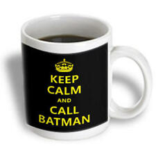 personalised Keep calm and call Batman Mug