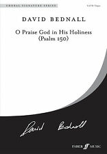 O Praise God in His Holiness Choral Hymns Mixed Voices SONGS FABER Music BOOK