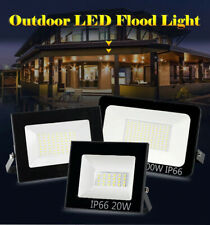 PIR Motion Sensor 50W LED Floodlight Garden Wall Street Security 220V Spotlight