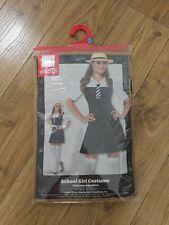 New Smiffys School Girl Costume Size Large
