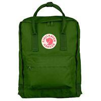 Fjällräven Kanken Mochila Escolar Deporte Tiempo libre Bolsa verde 23510-615
