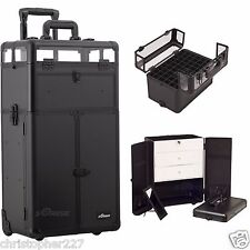 Holds OPI Nail Polish Manicure Pedicure Makeup Trolley Case Organizers Storage