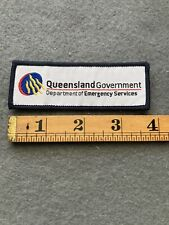 Queensland Australia Government Department Of Emergency Services Patch C0