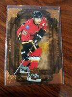 2008-09 upper deck Artifacts Hockey #84 Jarome Iginla Flames Card