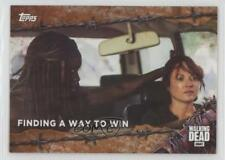 2017 Topps The Walking Dead Season 7 Rust #43 Finding a Way to Win Card 5b4
