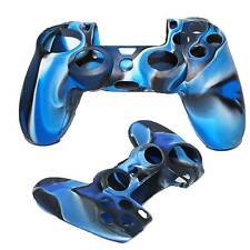 blau PlayStation 4 Ps4 Silikon Controller Joypad Schutzhülle Cover Skin Case