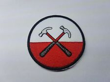Quality Iron/Sew on PINK FLOYD HAMMERS MARCH band patch Biker the wall