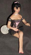 1:12 Doll Black Woman Chicken Ranch Bordello Dollhouse Miniature #1443 Thomas