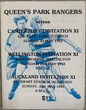 More details for queens park rangers new zealand tour 1983