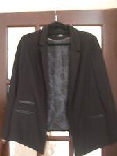 Wallis Black Jacket Size 16.  USED.