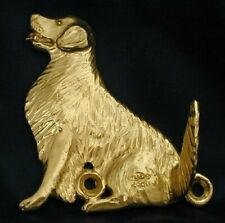 GOLDEN RETRIEVER Hook in Bronze